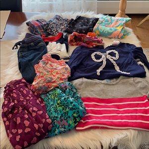 4/4T Bundle of Girls clothes an even dozen! EUC!